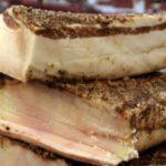 ラルド・ディ・コロンナータは大理石槽で生のまま熟成させた豚の背脂の生ハム!?